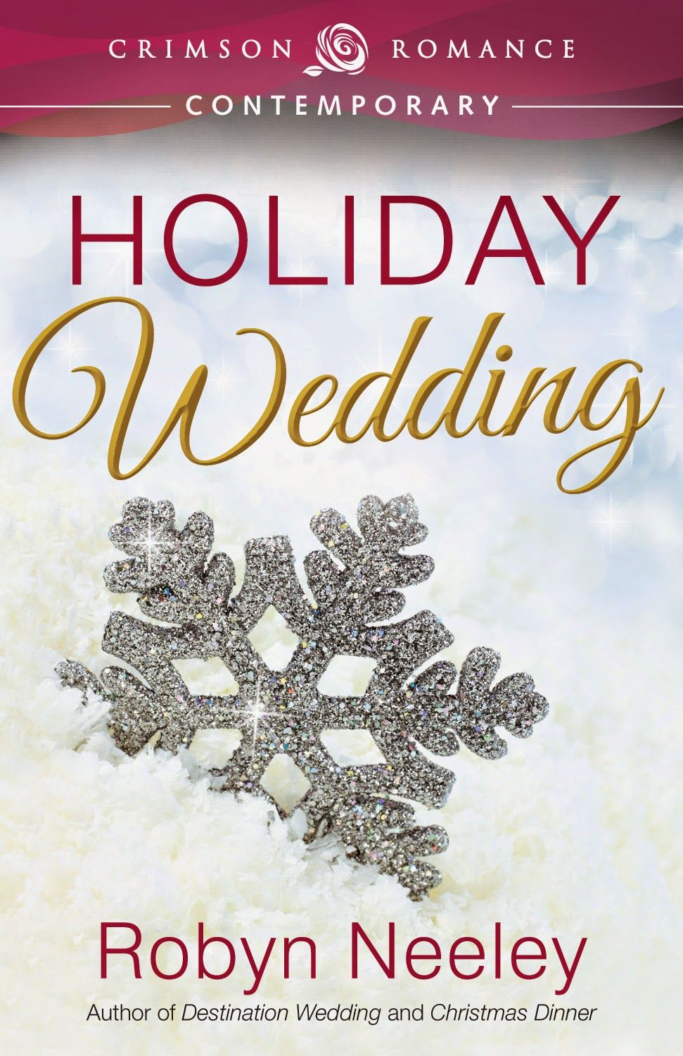 Excerpt & Giveaway for Holiday Wedding by Robyn Neeley The author is giving away a $5.00 Amazon GiftCard and electronic copy of Destination Wedding for winner. Second prize 1 electronic copy of a Backlist Title! Ends December 14th 2014.