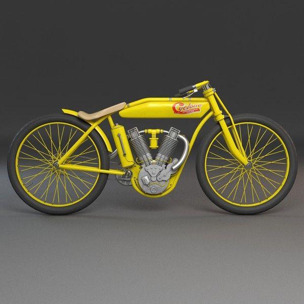 Motorbike Vintage Obj Vintage Motorbike By Mmvis Motorbikes Classic Motorcycles Custom Electric Bike