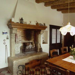 Riproduzione Di Camino Antico In Pietra D Istria Camini Home