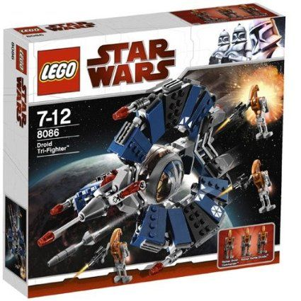 Lego New Star Wars 7931 Jedi T-6 Shuttle And 8086 Droid Tri-Fighter Sets