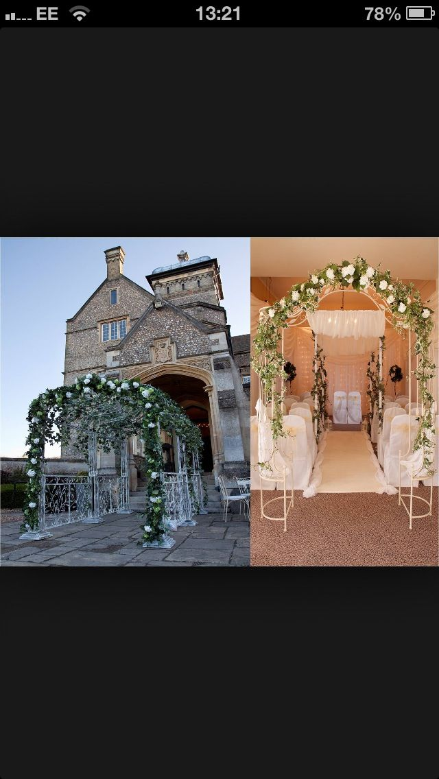 Flower arch, entrance or for ceremony back drop