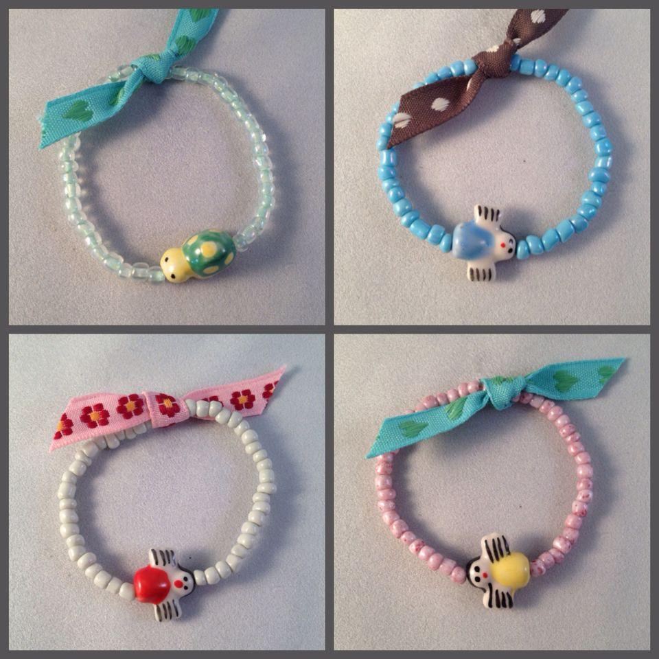 Kids bracelets  www.be-beryl.nl