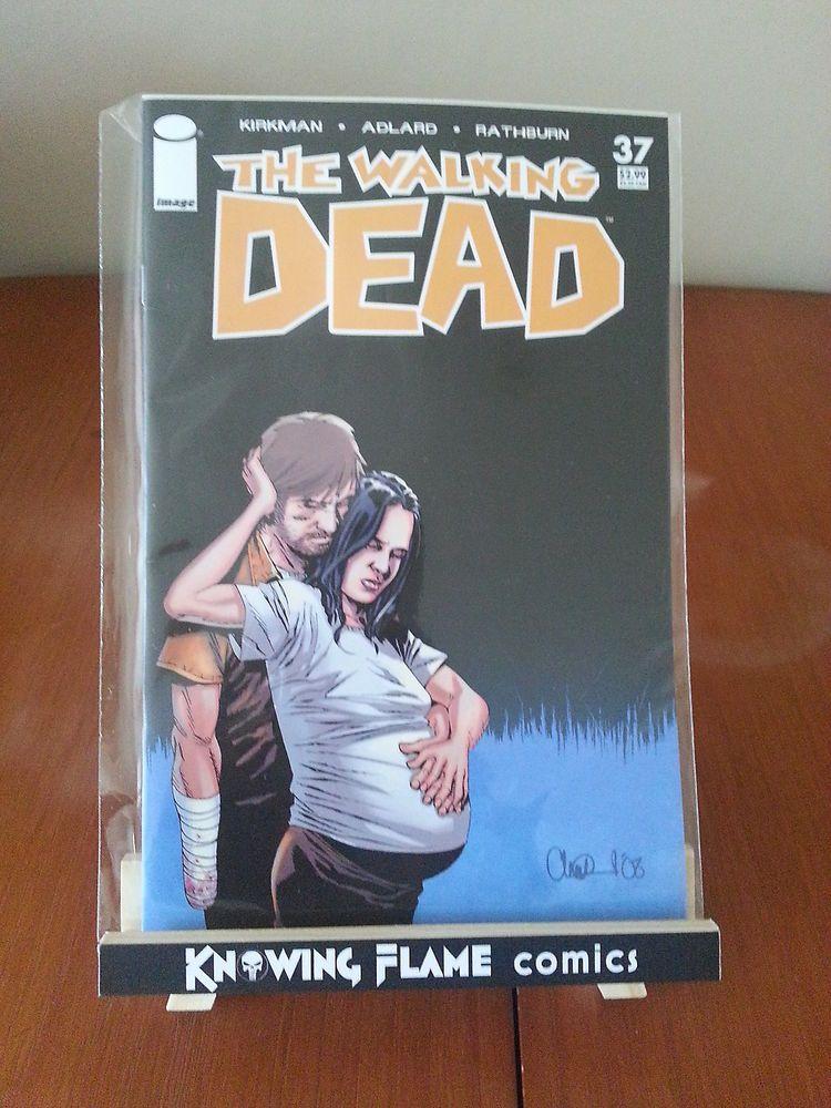 Walking Dead #37 Image Comics Robert Kirkman Charlie Adlard Cliff Rathburn VF/NM