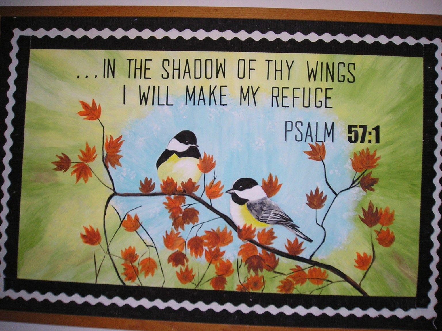 Church Bulletin Board Psalm 57 1 Church Bulletin Boards
