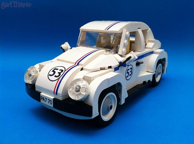 herbie beetle car vw beetles and lego. Black Bedroom Furniture Sets. Home Design Ideas