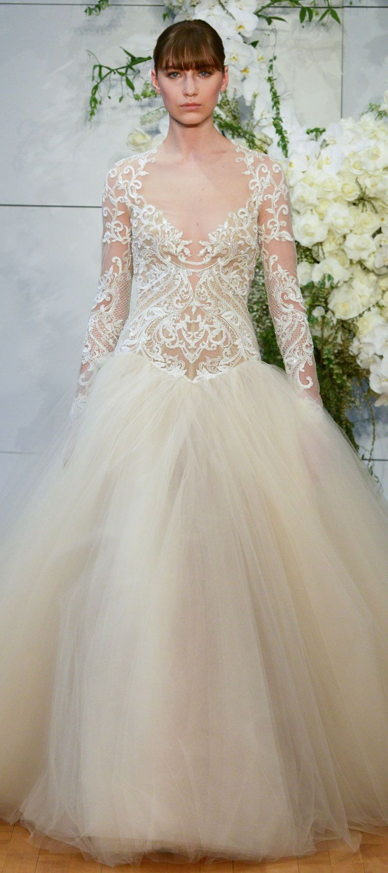 Monique Lhuillier Spring 2018 Wedding Dresses - Fabmood | Wedding ...