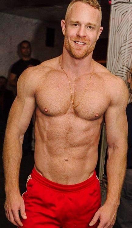 Hairy redhead thumb