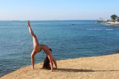 "yoga poses around the world ""elka haeckel  inverted bow"