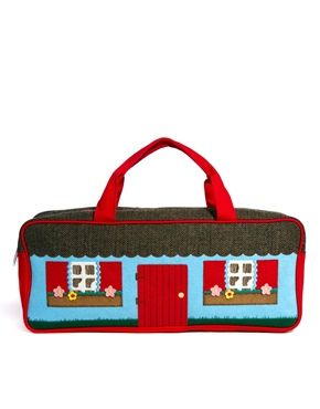 Cath Kidston - knitted cottage bag