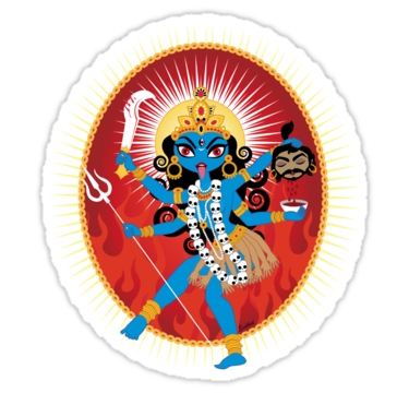 Kali By Evilkidart Kali Ma Kali Goddess Sale Artwork