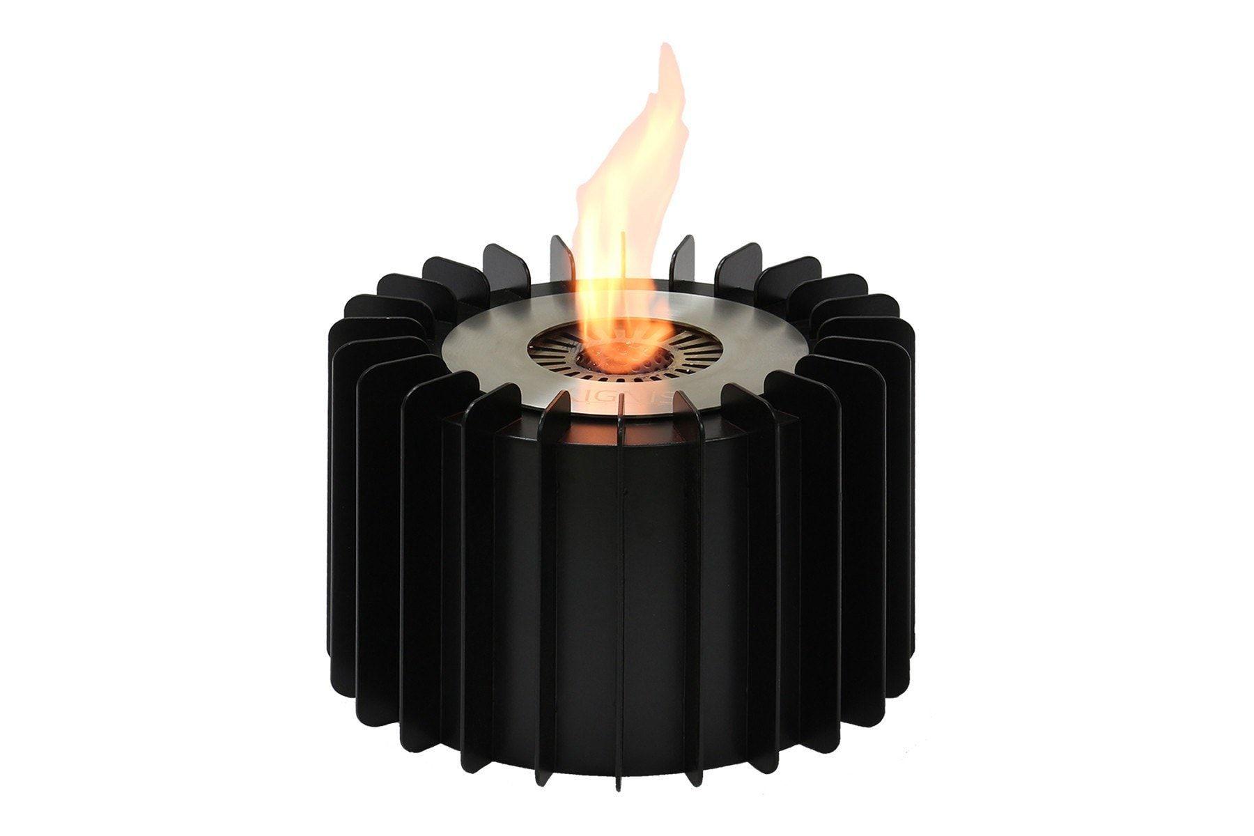ignis ebg150 round ethanol fireplace grate 9 5 ethanol fireplace