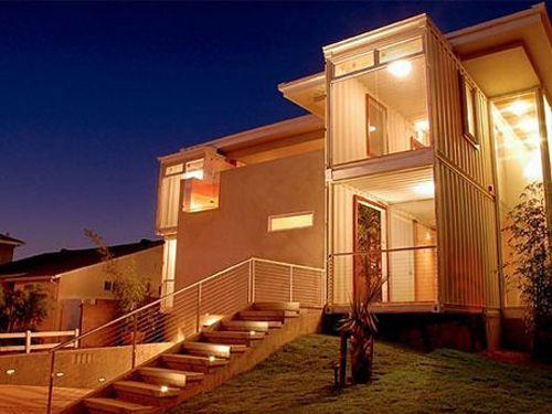 Shipping Container Homes - Cargo Container Houses - Good Housekeeping & Would You Live in a Shipping Container? | Cargo container Ships and ...