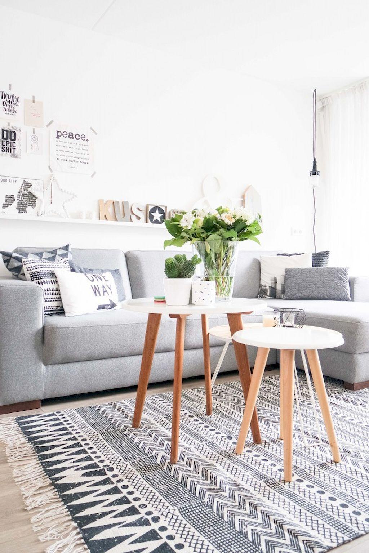 Gorgeous scandinavian living room design trends 27
