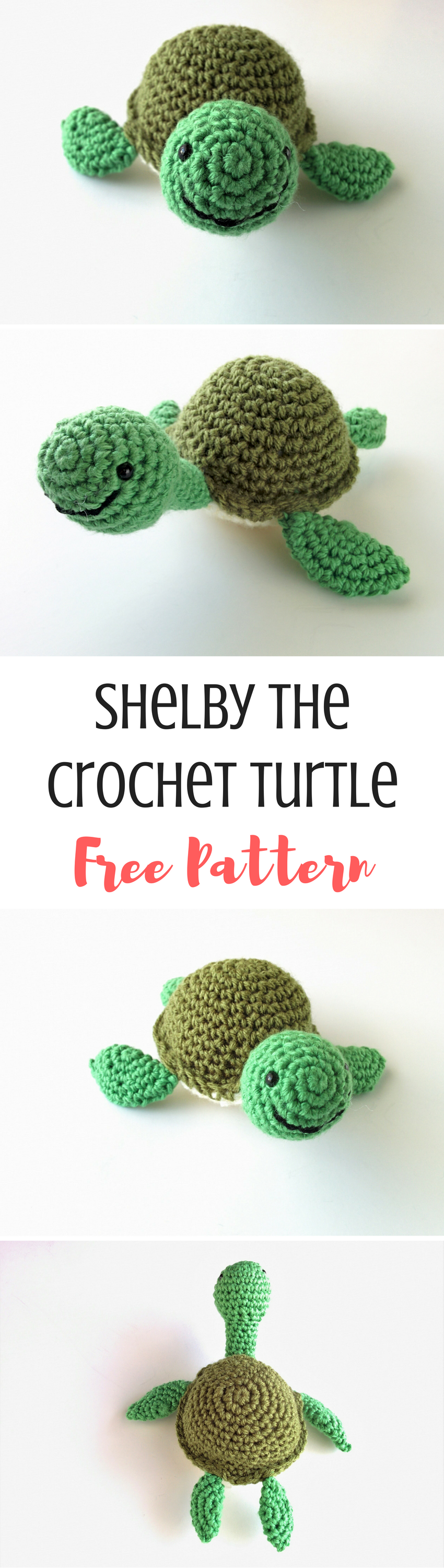 Shelby the Crochet Turtle Pattern | Varios y Animales