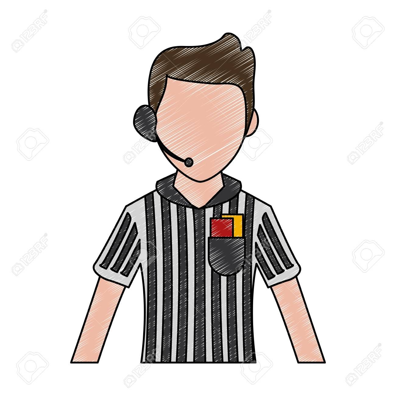 Soccer Referee Cartoon Vector Illustration Graphic Design Ad Cartoon Referee Soccer In 2020 Social Media Design Graphics Cartoons Vector Social Media Graphics