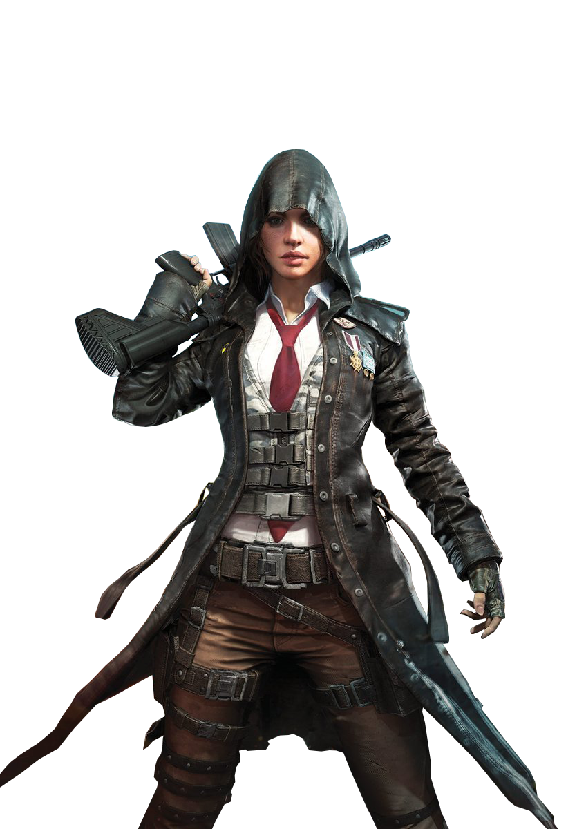 Playerunknown S Battlegrounds Female Sniper Pubg Png Image Png