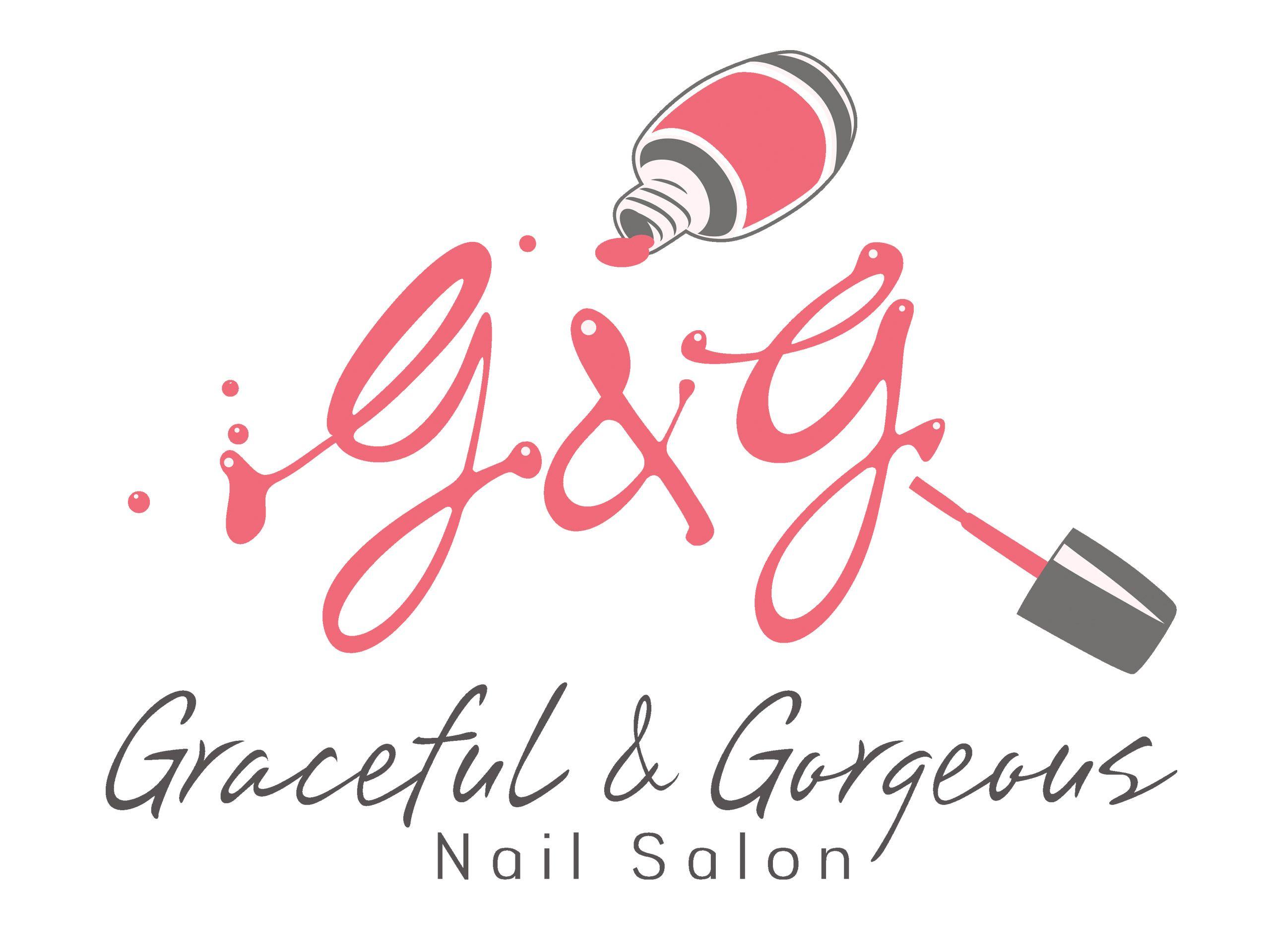 nails logo Αναζήτηση Google Nombres de salón de uñas