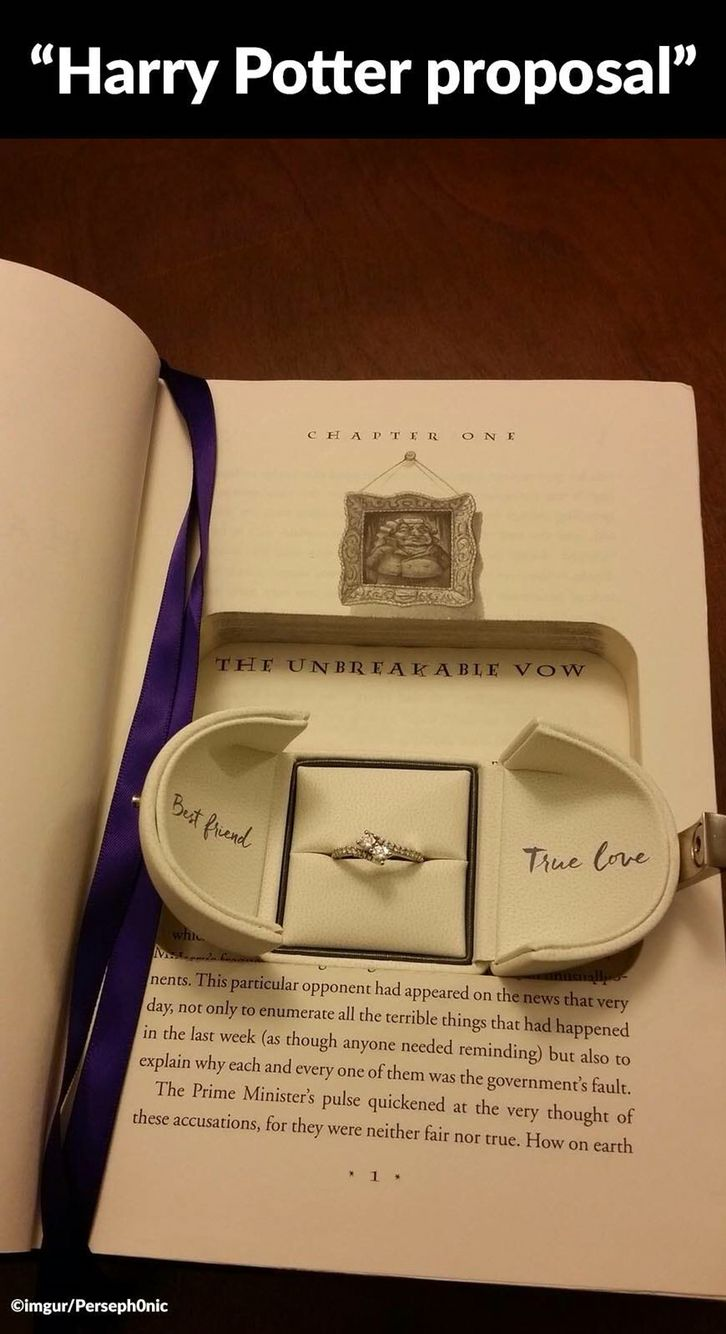 PLEASE let this be how I'm proposed to
