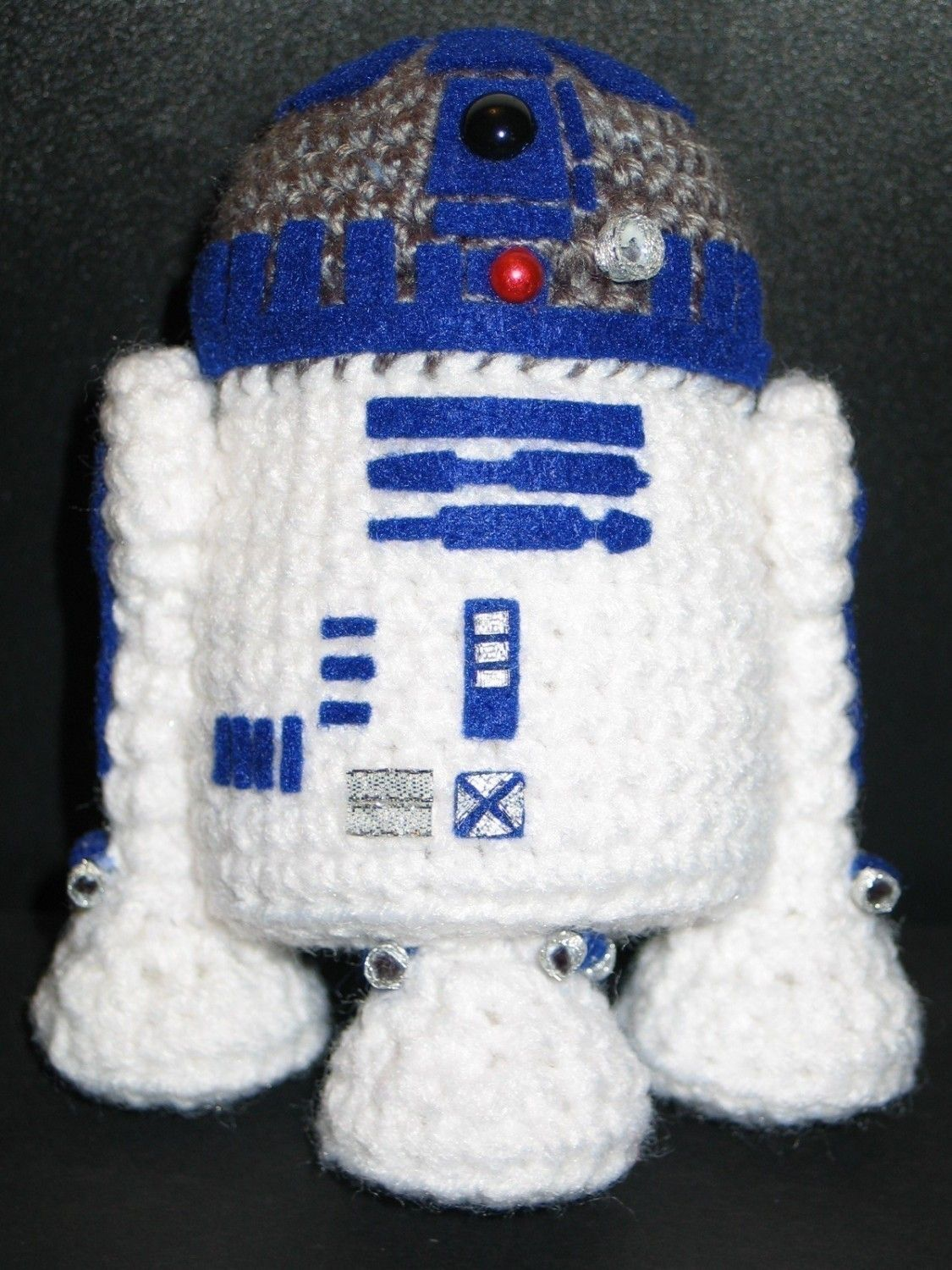 r2d2 amigurumi pdf muster von janama auf etsy handarbeiten pinterest riesen strick und m tze. Black Bedroom Furniture Sets. Home Design Ideas