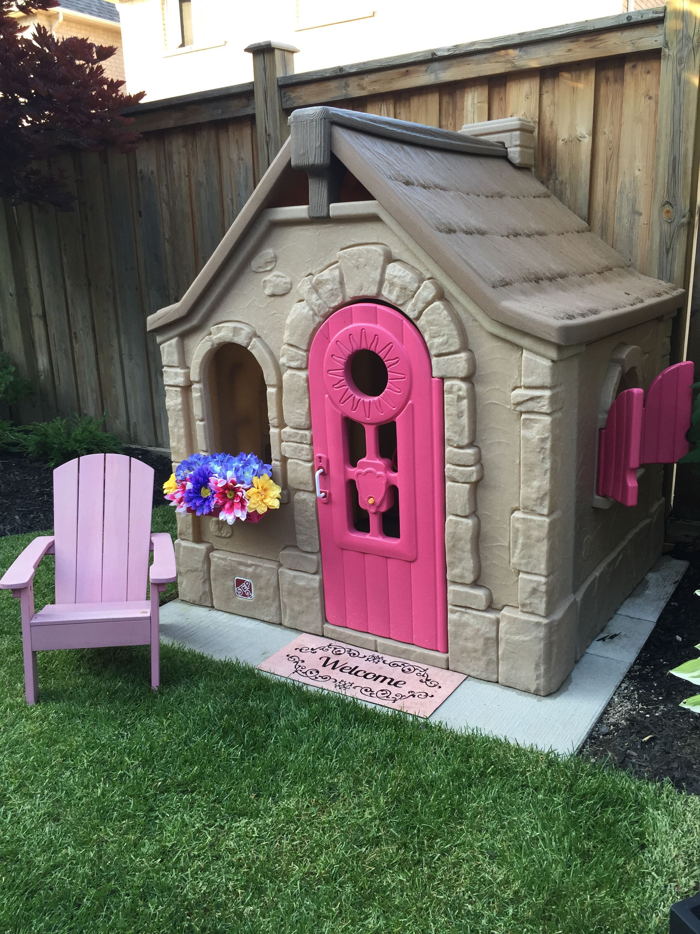 Diy Plastic Playhouse Build A Playhouse Little Tikes Playhouse