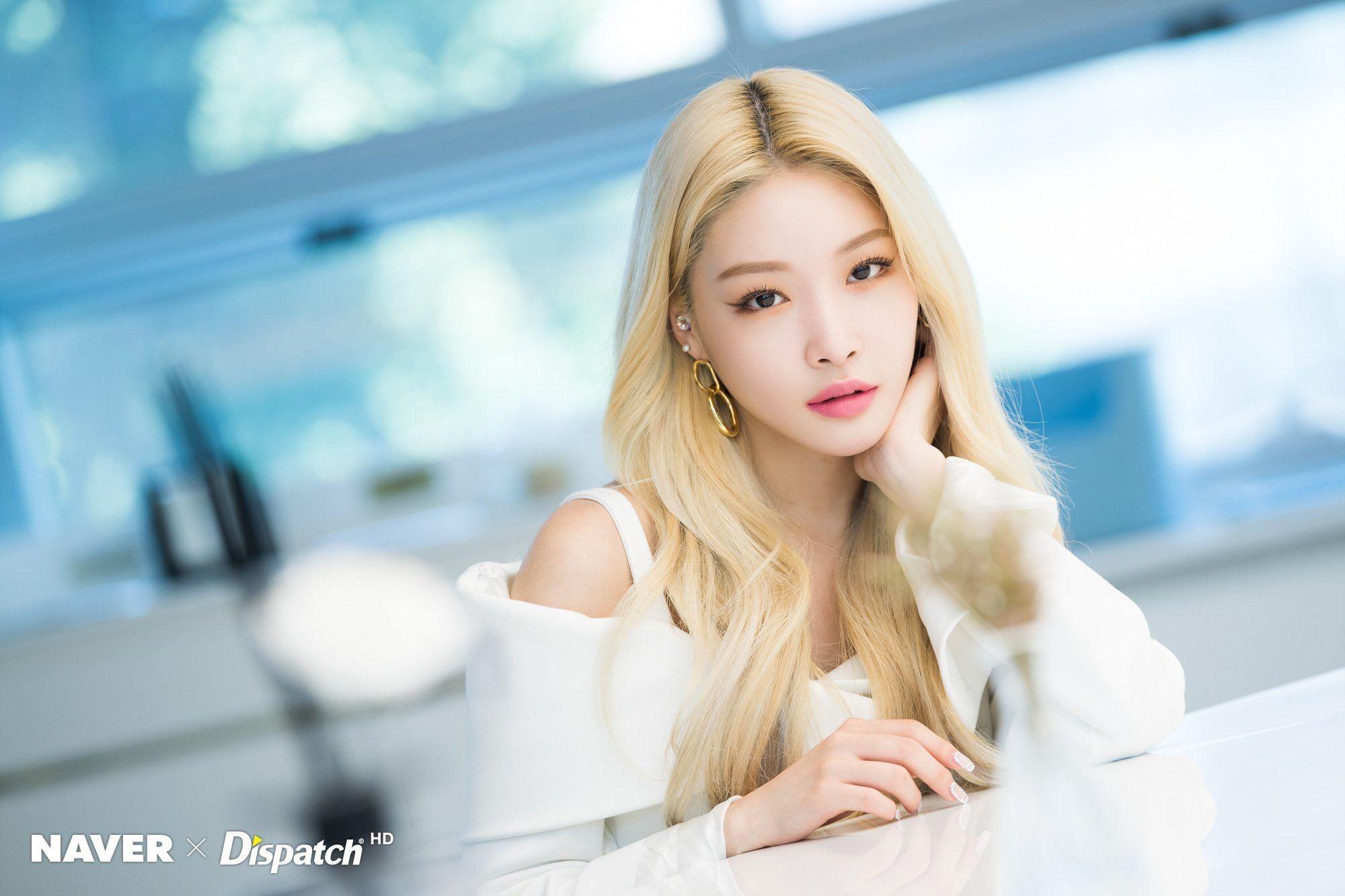 Chungha Flourishing Promotional Photoshoot Naver X Dispatch Kpop Girls Kpop Girl Groups Photoshoot