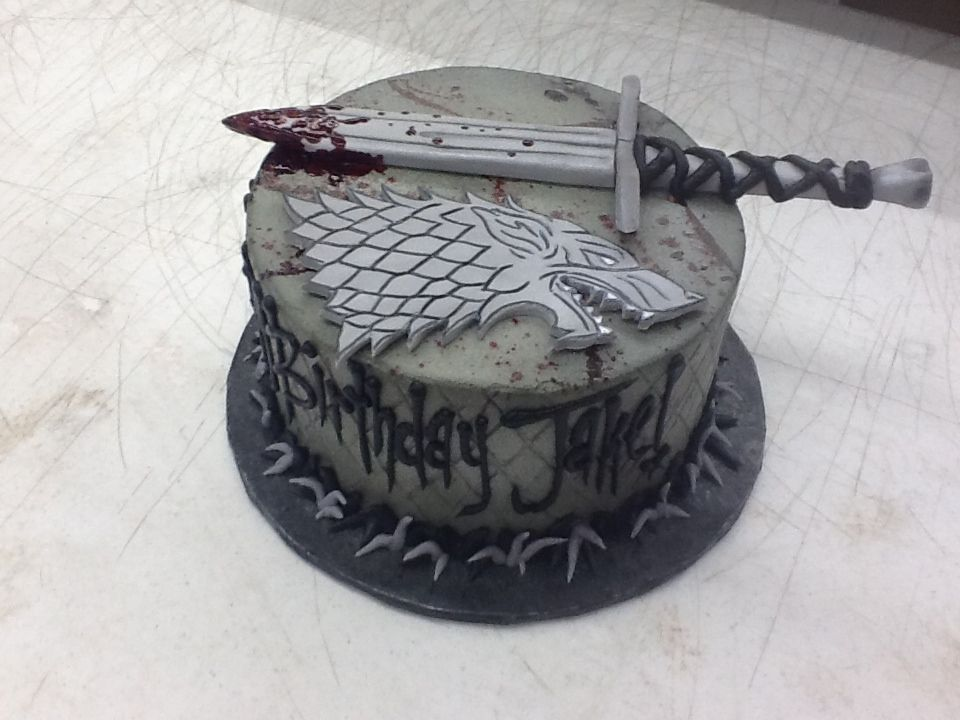 Game of Thrones Cake House Stark From Sweet Boutique Cakes Cake