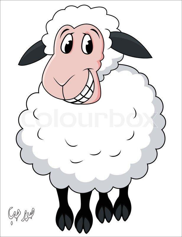 صور خروف العيد للتصميم 2017 فكتور لخروف العيد روعه صممي بوستاتك بنفسك Sheep Cartoon Cartoons Vector Cartoon Pics