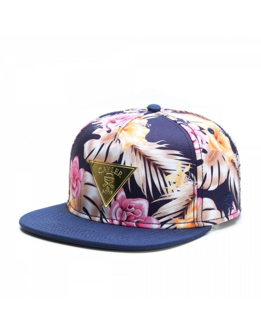CAYLER   SONS C S GLD Hawaiian Flowers Cap Street Brands bc235d9c75d