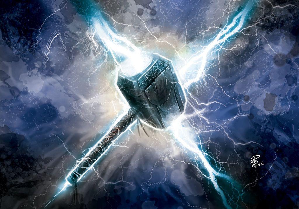 Resultado De Imagem Para Mjolnir Mjolnir Thor Wallpaper Marvel