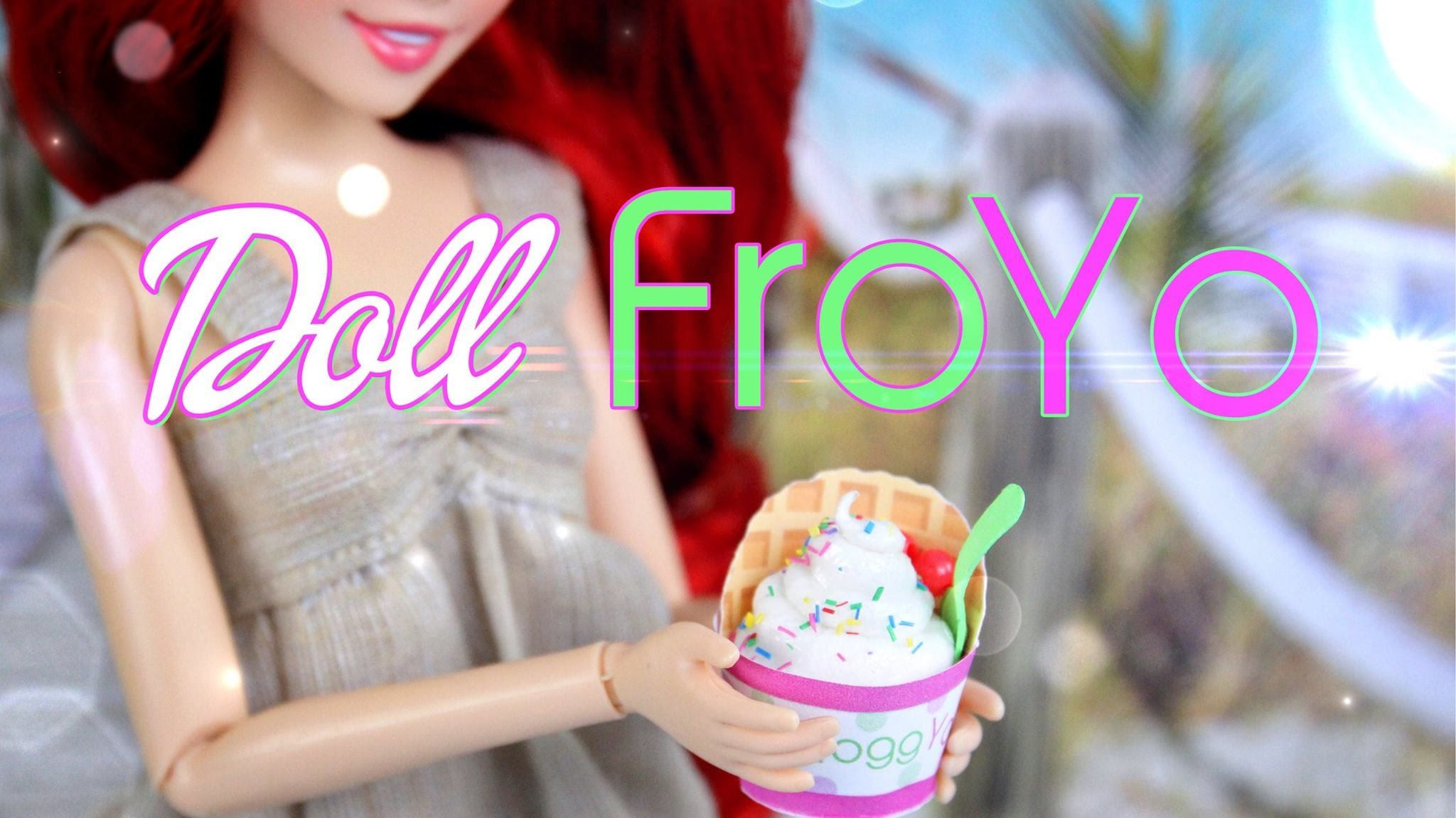 how to make sweets and treats for your dolls