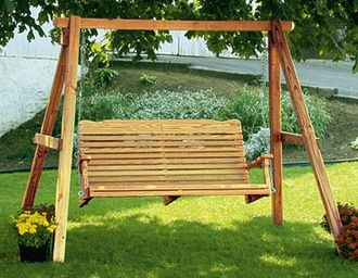 Wooden Porch Swings I Want One Of These So Bad For The Front