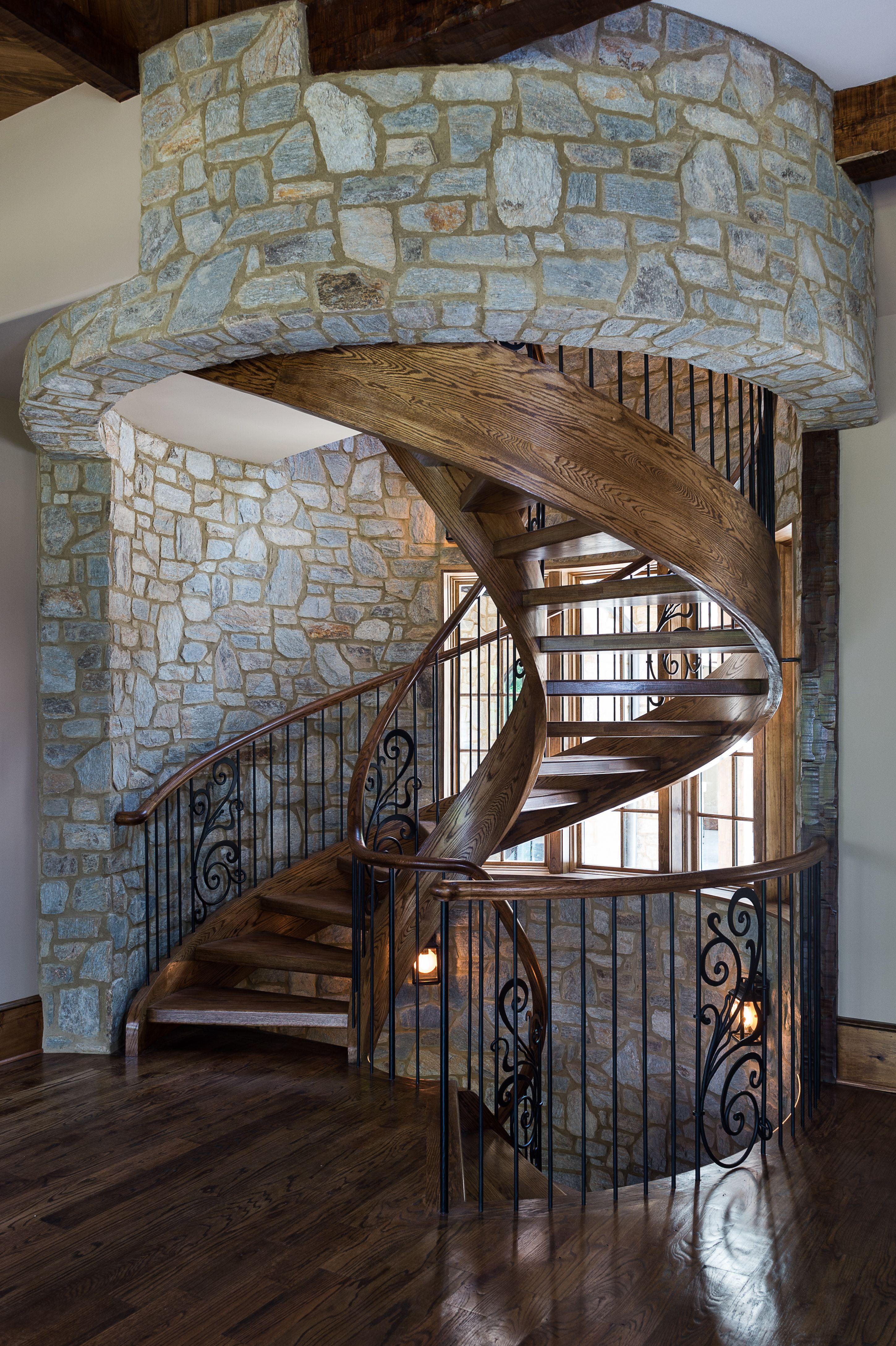 Best Gary Player Estates Grande Home Spiral Staircase Stone 400 x 300