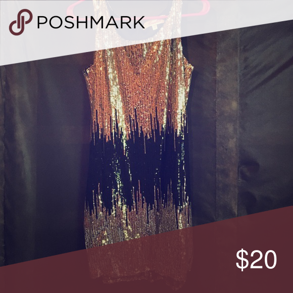 Flashy sequin dress If you're looking for a dress to wear out on the town look no further. This fun, flashy, sequin dress will be the talk of any event you enter into Emmelee Dresses Mini