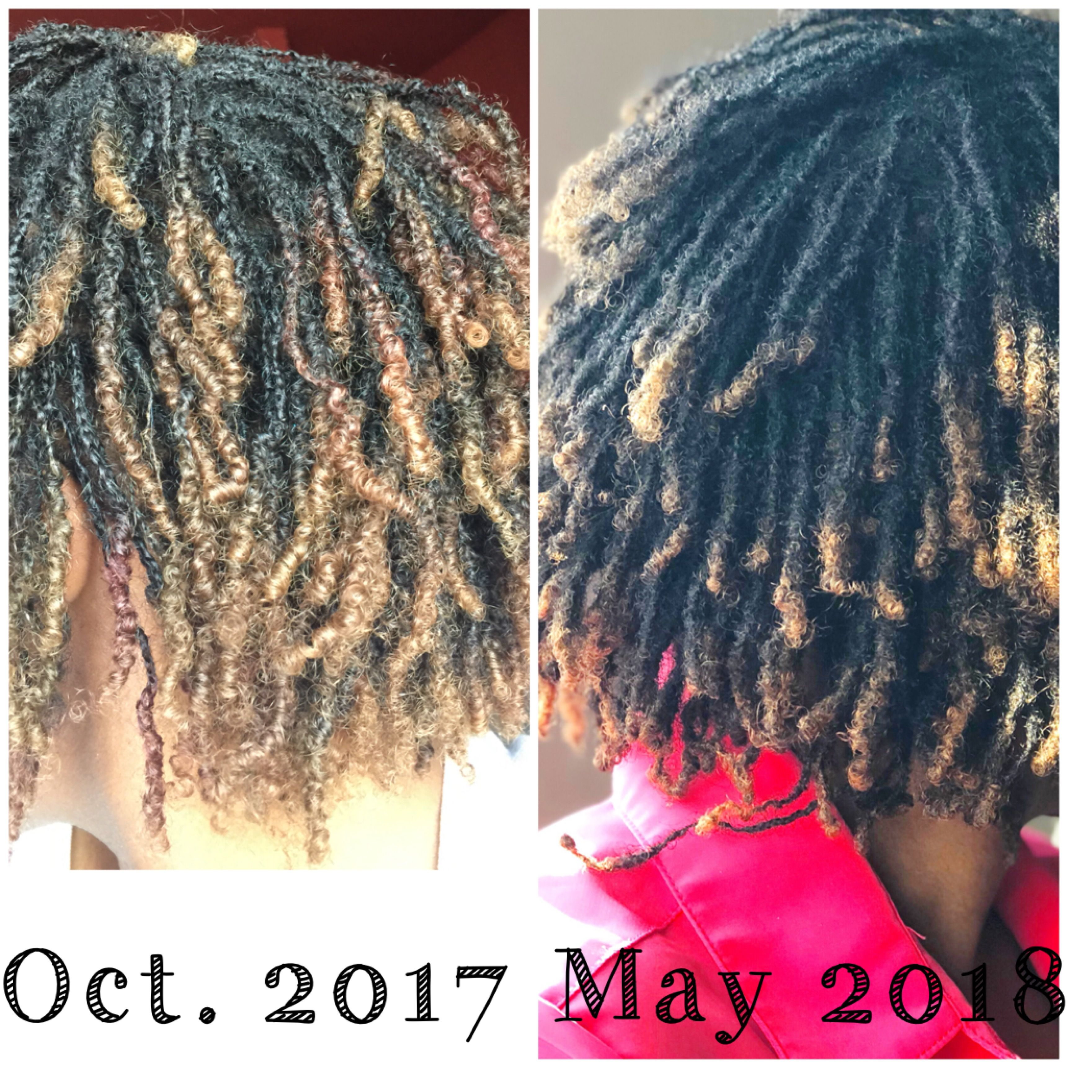 1 Year Loc D Today 5 17 18 My Braidlocs Are One Year Old Mylocjourney Microlocs Twist Hairstyles Hair Styles Dreadlock Hairstyles