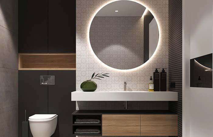 Badezimmerspiegel Tipps Zur Auswahl Des Idealen Modells Hausbau