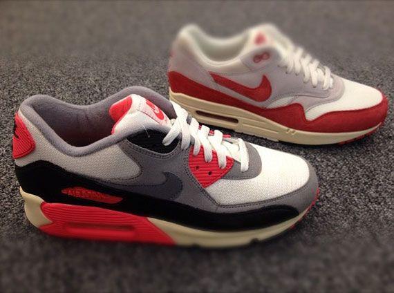 nouveau concept 07bad 2f07b Nike Air Max 1 & Air Max 90 VNTG OG Colorways - SneakerNews ...