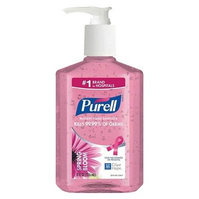 Purell Instant Hand Sanitizer Spring Bloom 8 Oz 6 Pack Hand