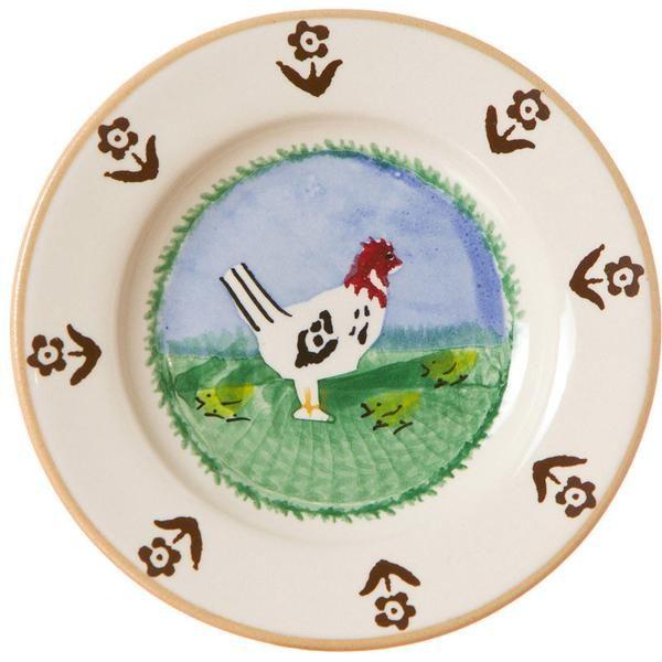 Tiny Plate Hen