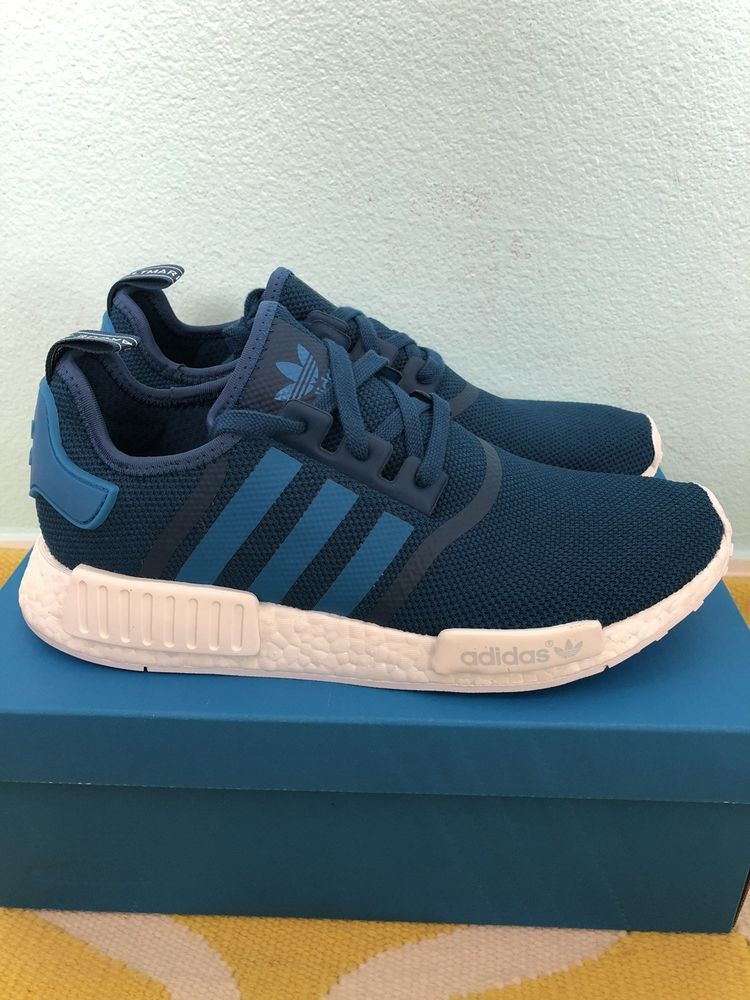 954b235687e2 Adidas nmd r1 mesh s31502 (tecste university blue white) men s shoes ...
