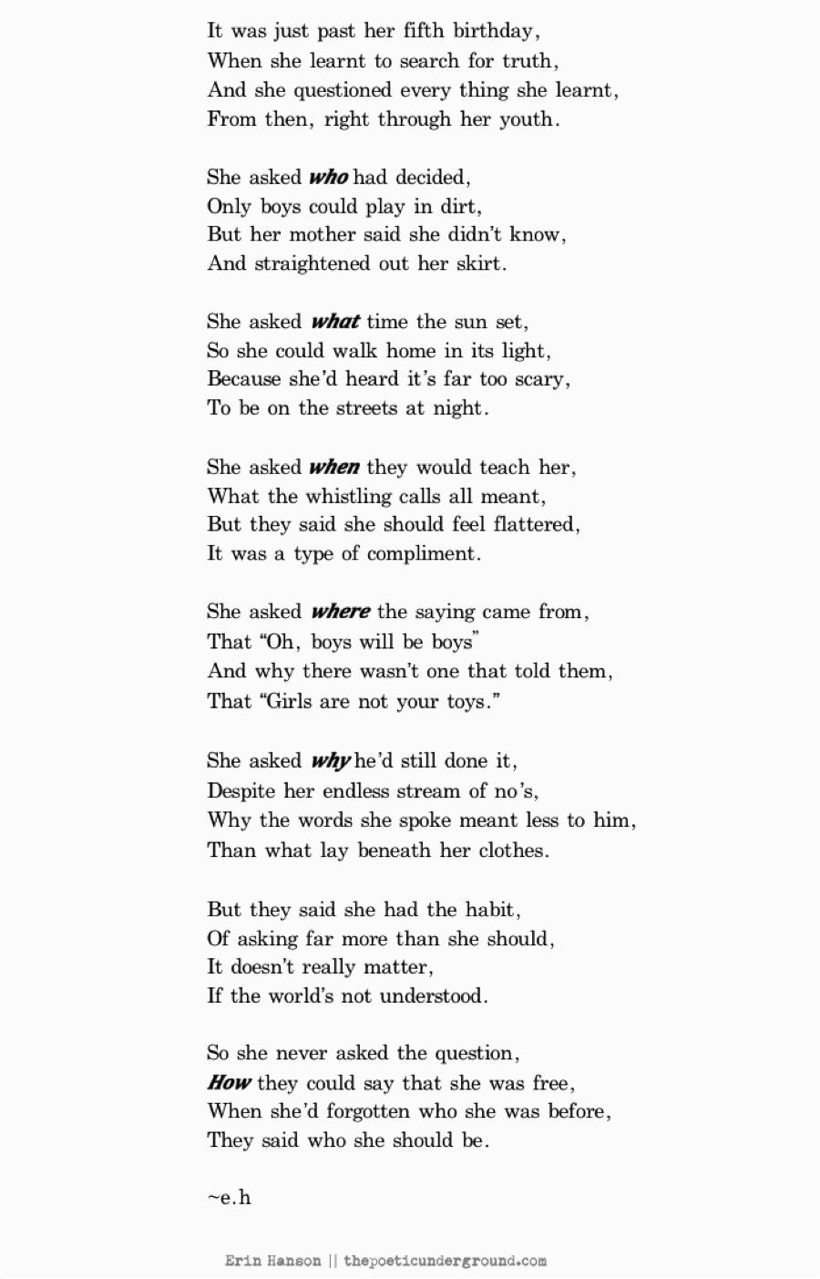 Motivational poems for her