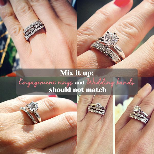spininc creative mix for inspration designs wedding rings e bands shaped wondrous pear match and