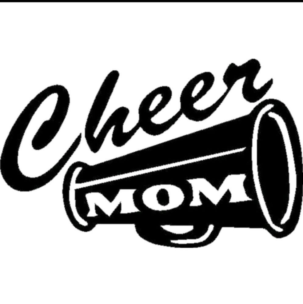 Cheer mom car decal sticker cheer mom shirts cheer mom