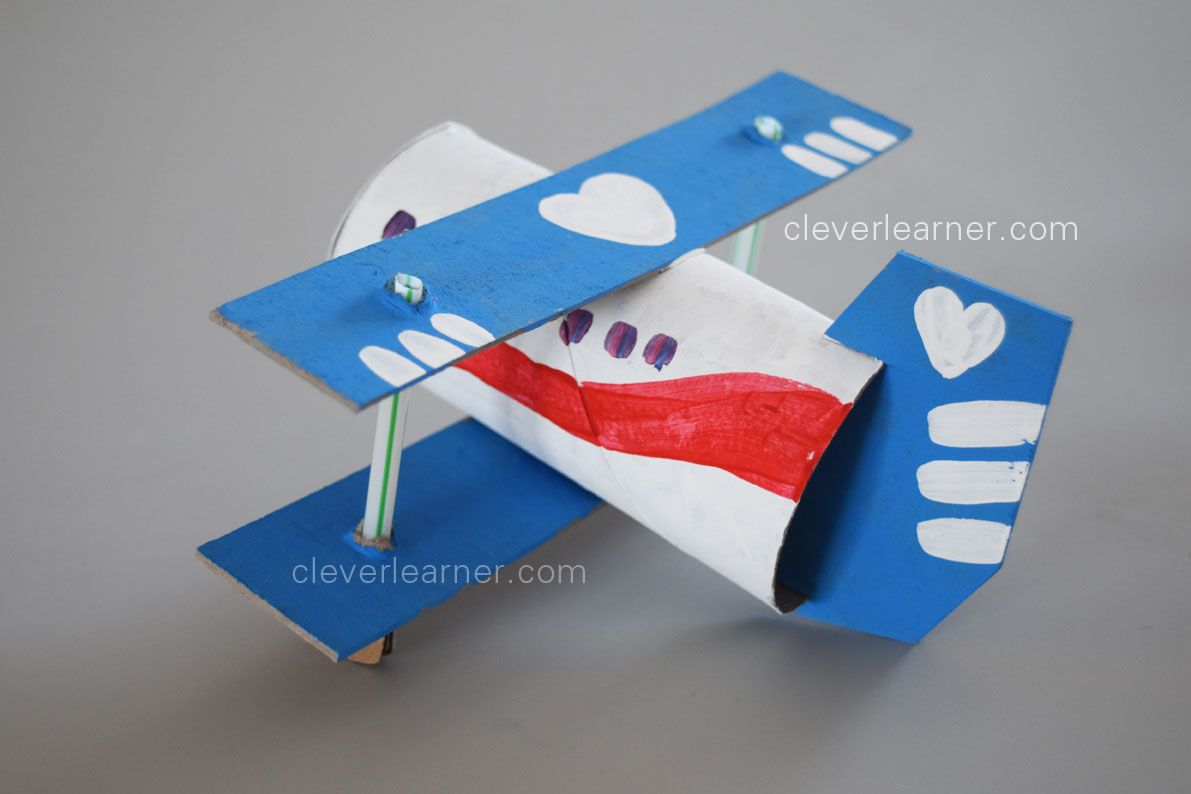 Fun And Easy To Do Paper Craft Aeroplane For Children
