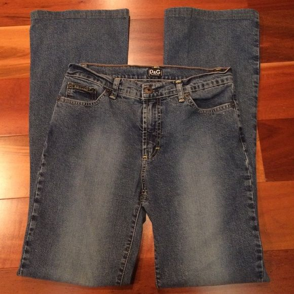 Dolce & Gabbana jeans Nice D&G jeans. 30 inch inseam. High waisted so very flattering fit. Dolce & Gabbana Jeans Boot Cut