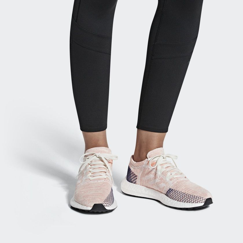 ef9d4a78433ff Pureboost Go Shoes Running White   Cloud White   Mystery Ink B75666