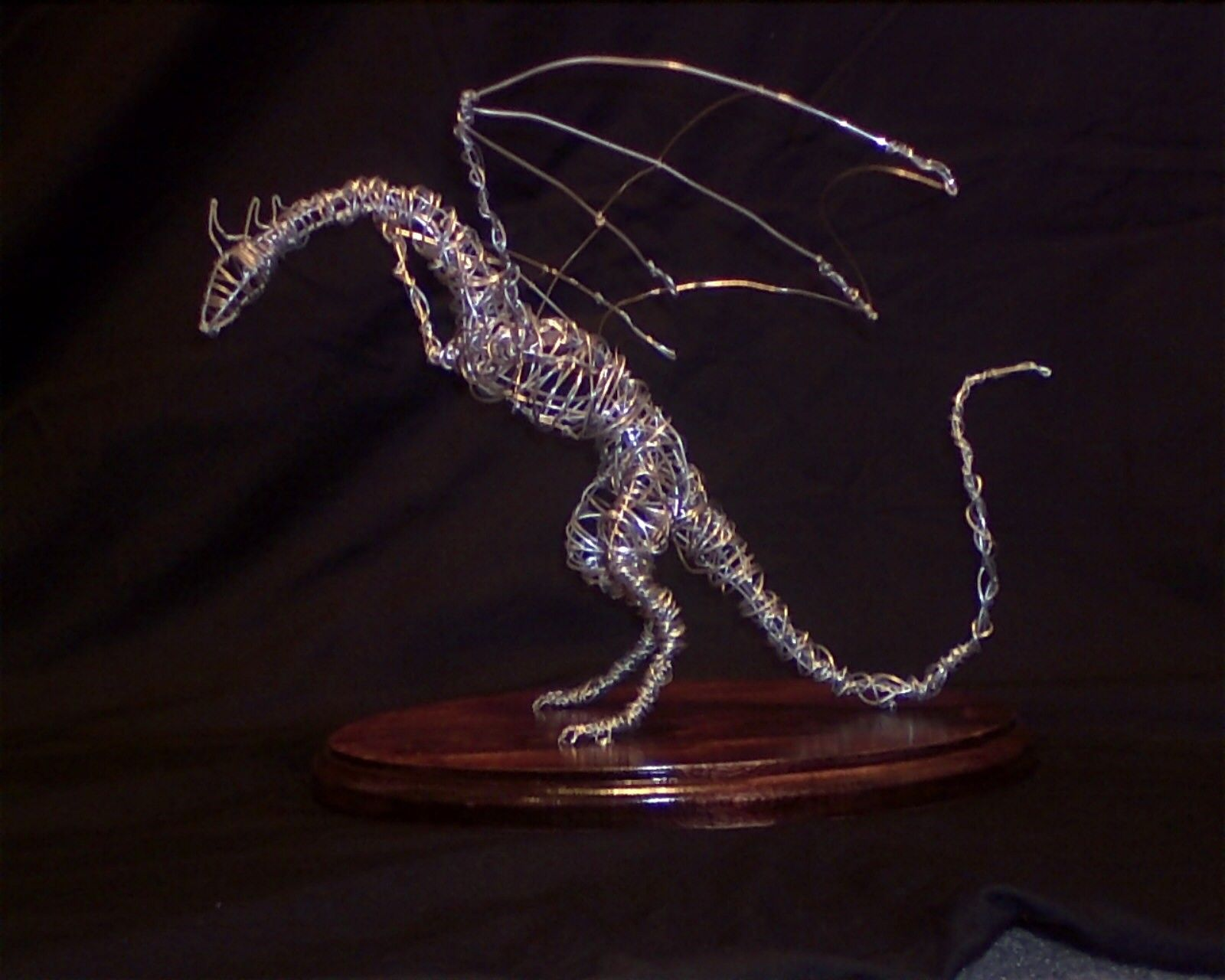 Image Detail For Wyvern Dragon Wire Sculpture From Feelahthetigress