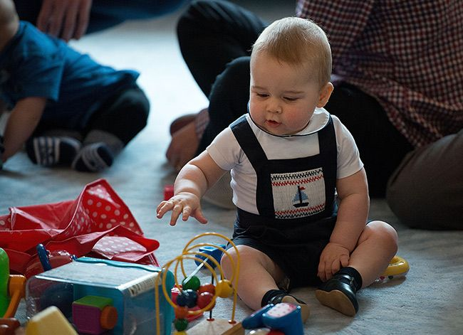 prince-george1 - Prince Charles is close to his grandson Prince George