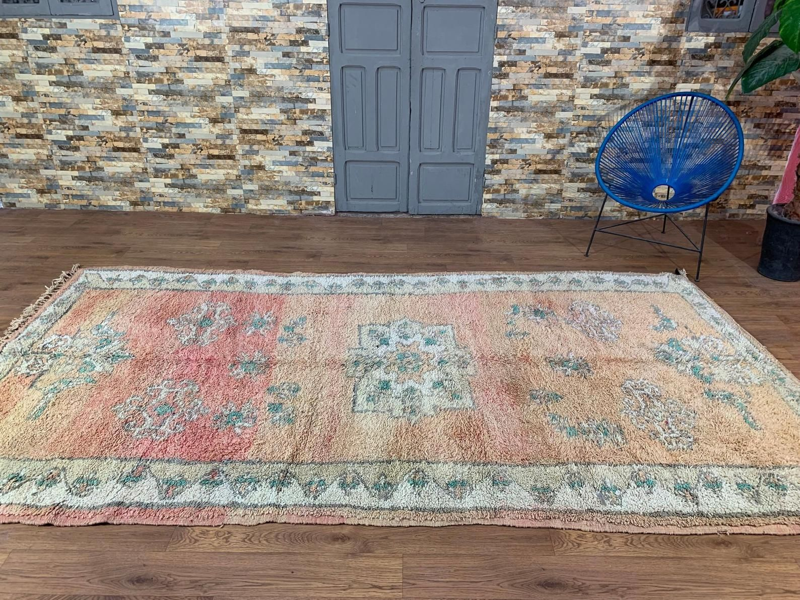 Vintage Boujad Tribal Berber Moroccan Rug 5ft X 10ft Moroccan Etsy In 2020 Luxury Area Rugs Moroccan Rug Moroccan Tribal Rugs