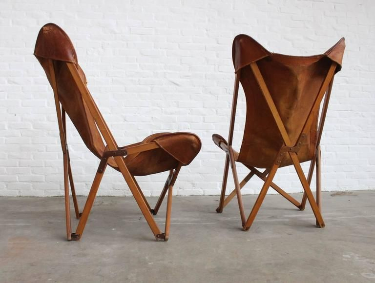 Original Tripolina Chairs By Joseph Fendy For Paolo Vigano