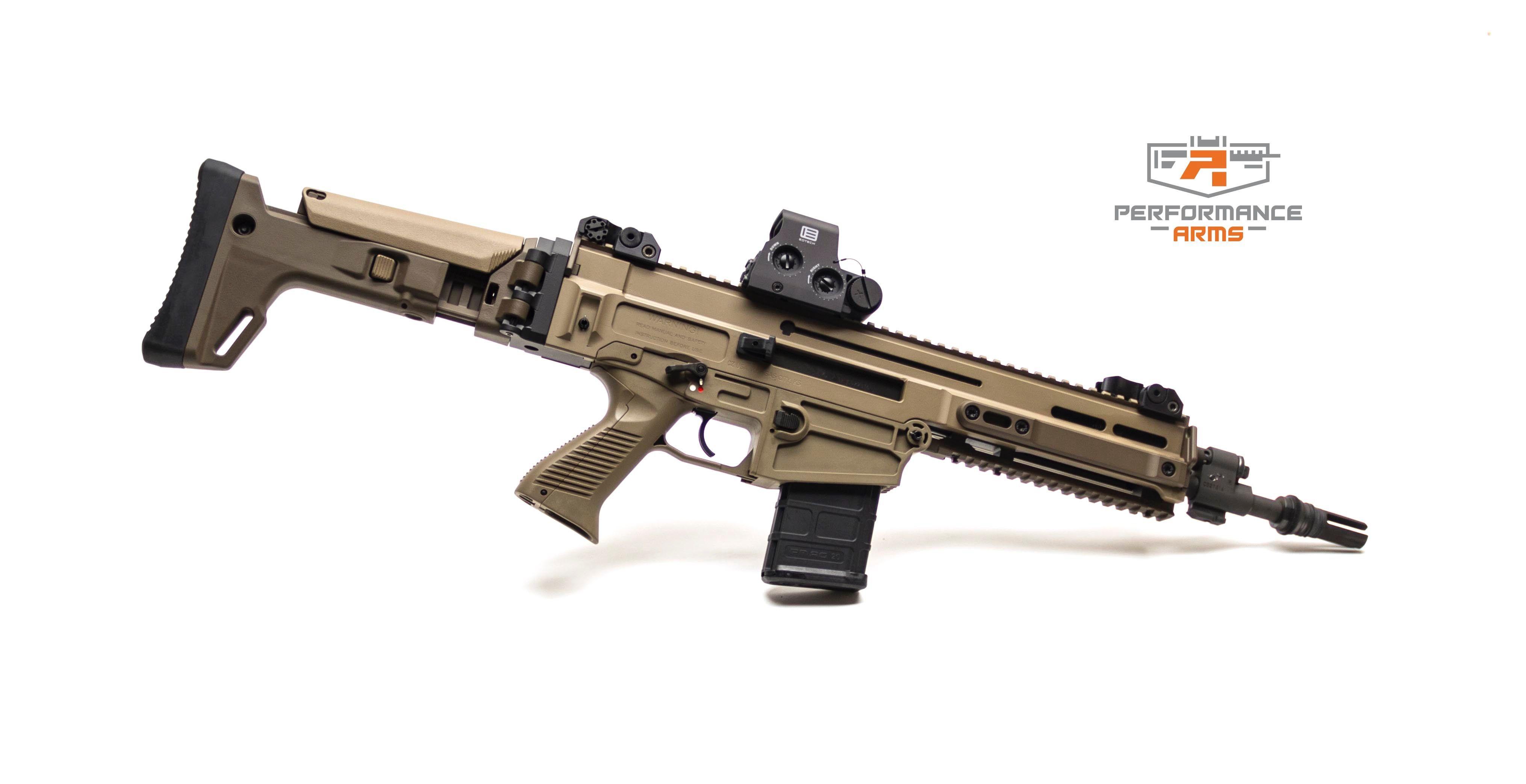 Performance Arms Custom Cz Bren With Sandline Tactical Folding